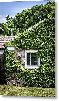 The Ivy House Metal Print by Kim Hojnacki