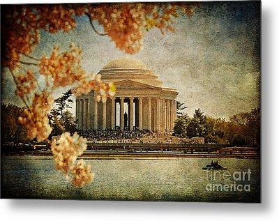 The Jefferson Memorial Metal Print by Lois Bryan