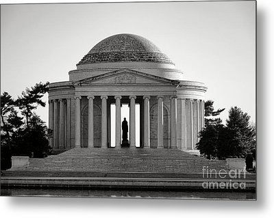 The Jefferson Memorial  Metal Print by Olivier Le Queinec