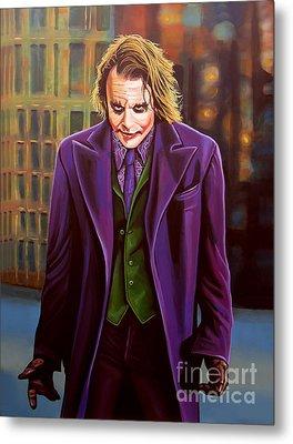 The Joker In Batman  Metal Print by Paul Meijering