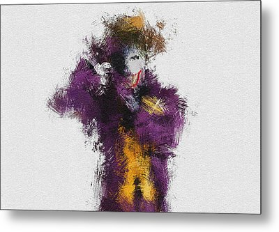 The Joker Metal Print by Miranda Sether