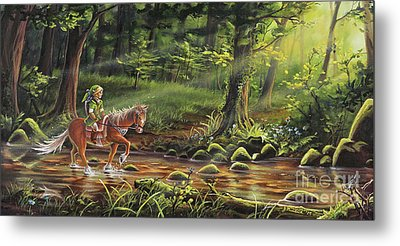 The Journey Begins Metal Print by Joe Mandrick
