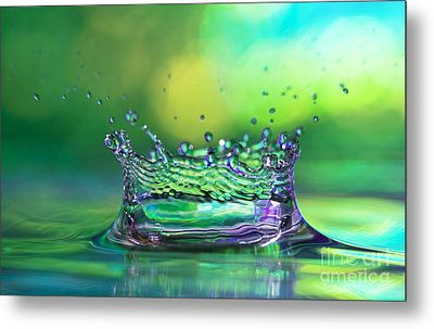 The Kings Crown Metal Print by Darren Fisher