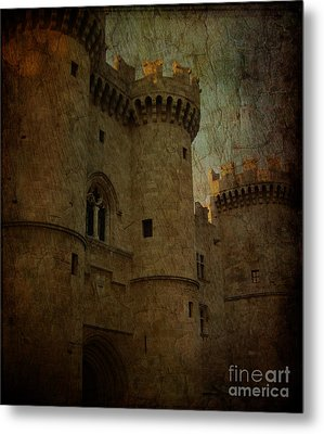 The King's Medieval Layer Metal Print by Lee Dos Santos