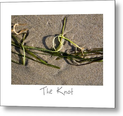 The Knot Metal Print by Peter Tellone