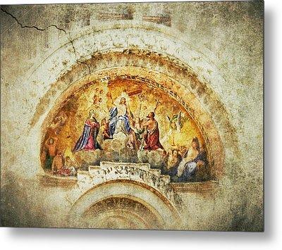 Venice - Byzantine Art Metal Print by Connie Handscomb