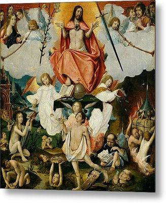 The Last Judgment Metal Print by Jan Provost