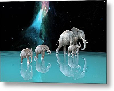 The Last Mother Metal Print by Betsy Knapp
