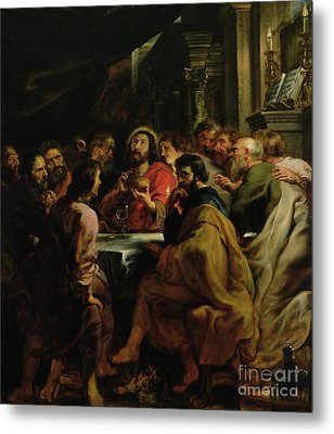 The Last Supper Metal Print by Rubens
