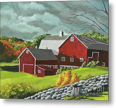 The Light After The Storm Metal Print by Charlotte Blanchard