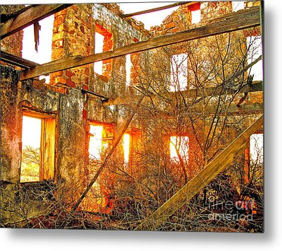 The Light Around The Body Metal Print by Chuck Taylor