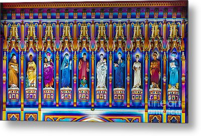 The Light Of The Spirit Westminster Abbey Metal Print by Tim Gainey