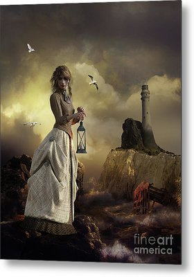 The Lighthouse Keeper's Daughter Metal Print by Shanina Conway