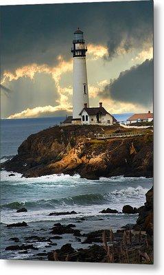 The Lighthouse Metal Print by Randall Branham