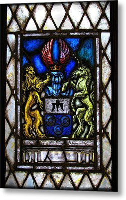 The Lion And The Unicorn Metal Print by Colleen Kammerer