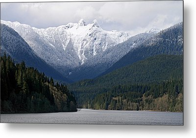 The Lions Mountain Vancouver Metal Print by Pierre Leclerc Photography