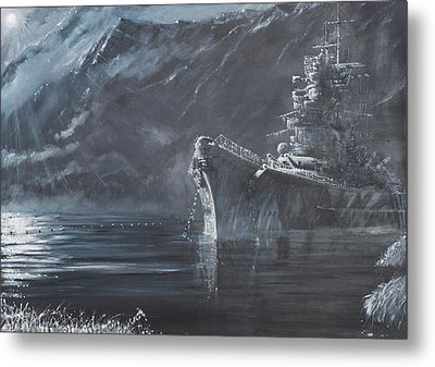 The Lone Queen Of The North Metal Print by Vincent Alexander Booth