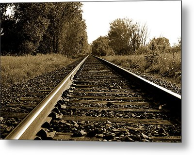 The Long Road Home Metal Print by Edward Congdon