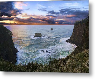 The Lookout Metal Print by James Heckt