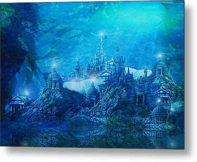 The Lost City Metal Print by Mary Hood