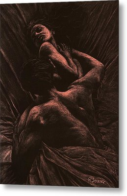 The Lovers Metal Print by Richard Young
