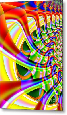 The Marching Band . Vertical . S14 Metal Print by Home Decor