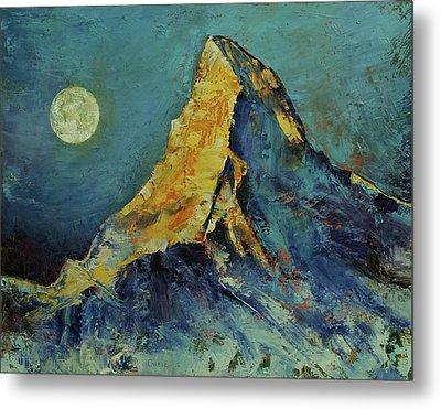 The Matterhorn Metal Print by Michael Creese