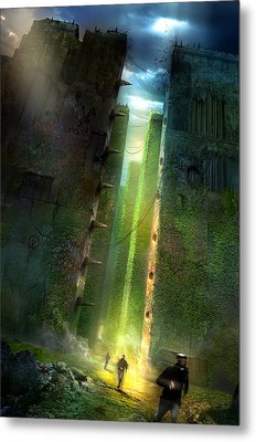 The Maze Runner Metal Print by Philip Straub