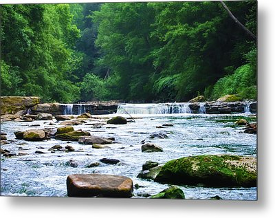 The Mighty Wissahickon Metal Print by Bill Cannon