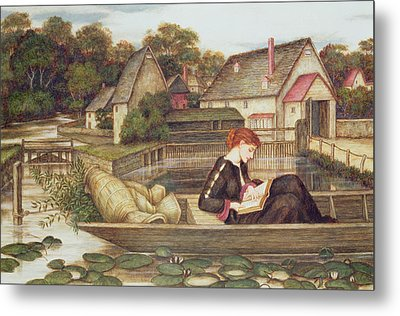 The Mill Metal Print by John Roddam Spencer Stanhope