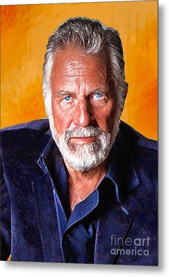 The Most Interesting Man In The World II Metal Print by Debora Cardaci