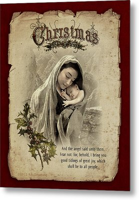 The Nativity Metal Print by Ray Downing