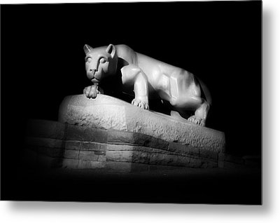 The Nittany Lion Of P S U Metal Print by Pixabay