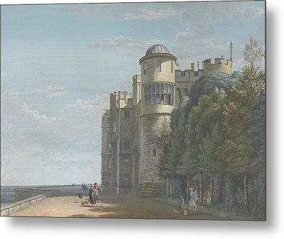 The North Terrace, Looking East Metal Print by Paul Sandby