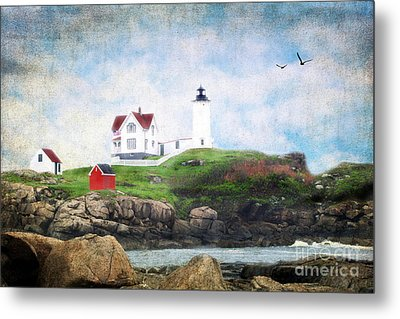 The Nubble Metal Print by Darren Fisher