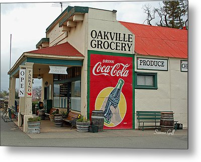 The Oakville Grocery Metal Print by Suzanne Gaff