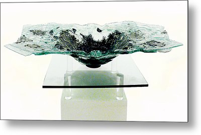 the  Offering Bowl Metal Print by Sarah King