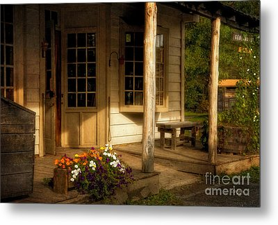 The Old General Store Metal Print by Lois Bryan