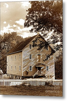The Old Gristmill  Metal Print by Olivier Le Queinec