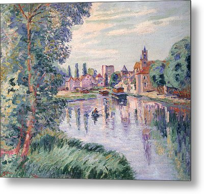 The Old Samois Metal Print by Jean Baptiste Armand Guillaumin