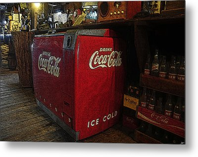 The Old Store Metal Print by David Lee Thompson