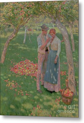 The Orchard Metal Print by Nelly Erichsen