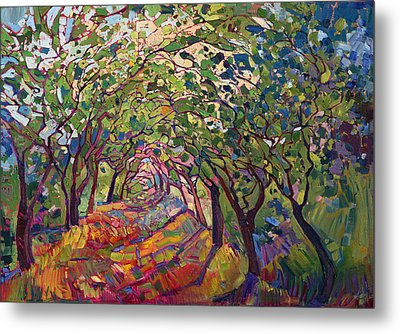The Path Metal Print by Erin Hanson