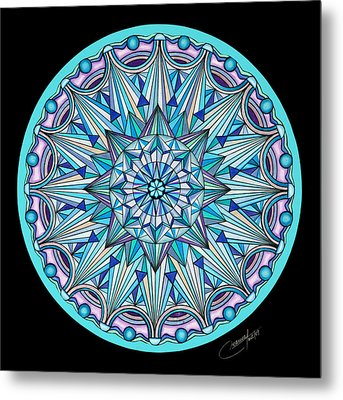 The Peace Within Metal Print by Marcia Lupo