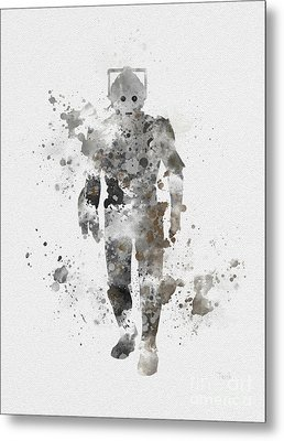 The Persistent Enemy Metal Print by Rebecca Jenkins