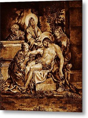 The Pieta Metal Print by Dino Muradian