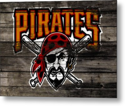 The Pittsburgh Pirates 1a Metal Print by Brian Reaves