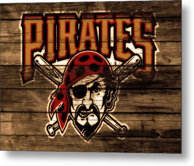 The Pittsburgh Pirates 1b Metal Print by Brian Reaves