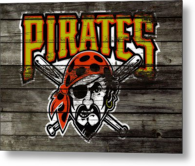 The Pittsburgh Pirates Metal Print by Brian Reaves