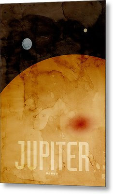 The Planet Jupiter Metal Print by Michael Tompsett